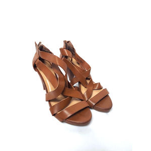 CL by Laundry Tan Heel Sandals